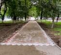 В Туле благоустраивают Комсомольский сквер