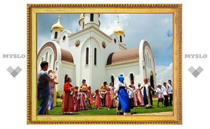 В русском храме на юге Африки отметили начало масленицы