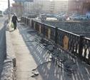 Провал на мосту через Воронку устранят в начале марта