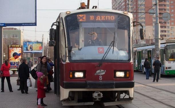 В Туле изменится маршрут движения трамваев