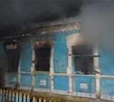 Из-за неосторожности жильцов в Суворовском районе загорелся жилой дом