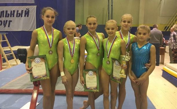 Тульские гимнастки заняли призовые места на Первенстве ЦФО