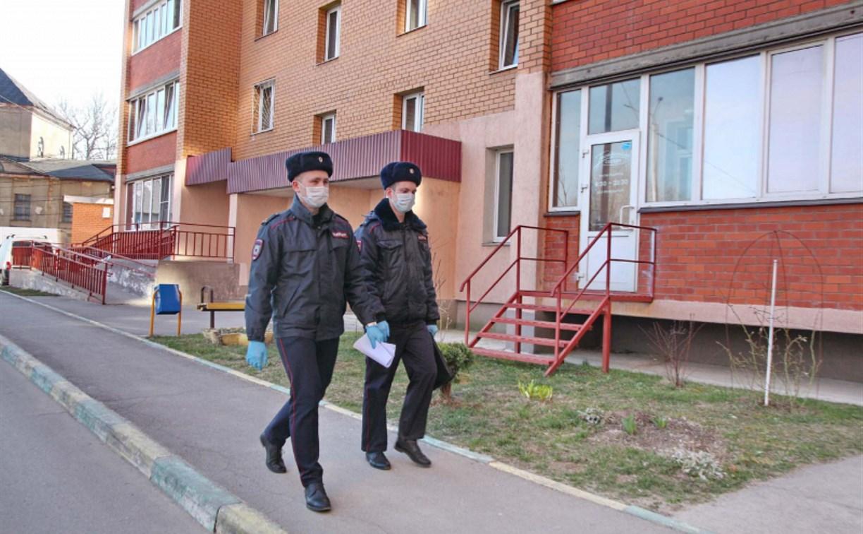Тульская полиция выявила 49 нарушителей карантина