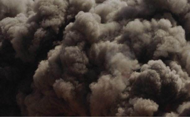 На территории завода «Полимер» в Щекинском районе произошел пожар