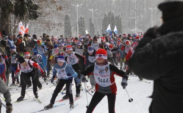 В Туле лыжники определили чемпионов города