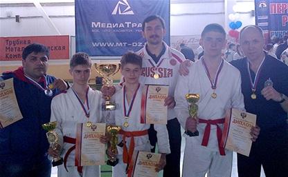 Юные тульские мастера рукопашного боя вошли в состав сборной России
