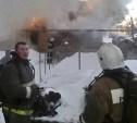 В Тульской области при пожаре пострадала пенсионерка