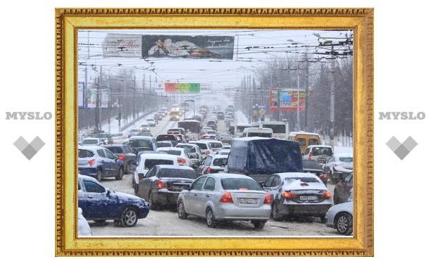 В Туле за 5 лет количество автомобилей выросло на треть