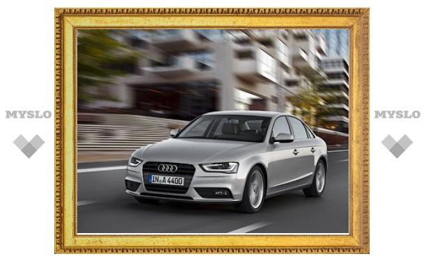 Названы российские цены на обновленные Audi A4