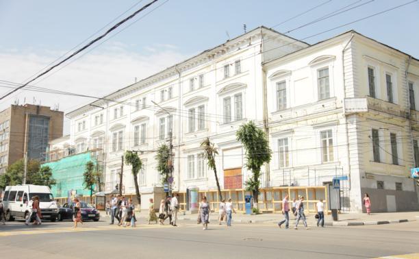 Фасад Дома офицеров отремонтируют ко Дню города