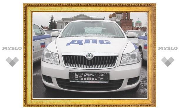 Полиция Тулы получила в свое распоряжение первые автомобили SKODA