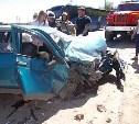 В Тульской области столкнулись «десятка» и KIA Sportage: трое пострадали