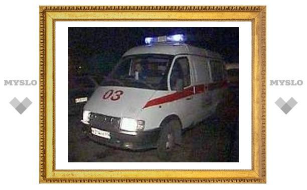 В Туле произошла авария