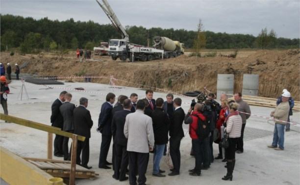 Владимир Груздев приехал с инспекцией в «Новую Тулу»