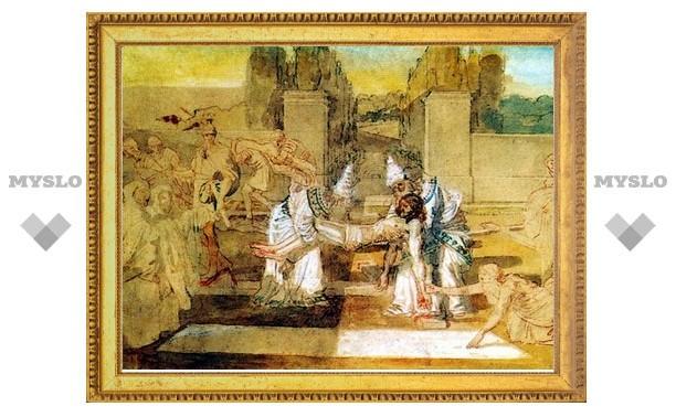 Венев стал обладателем копии Туринской плащаницы