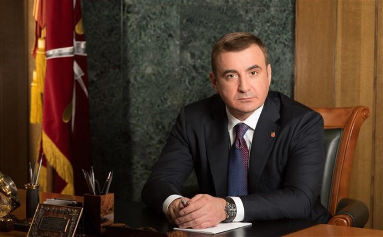 Алексей Дюмин поздравил работников налоговых органов с профессиональным праздником