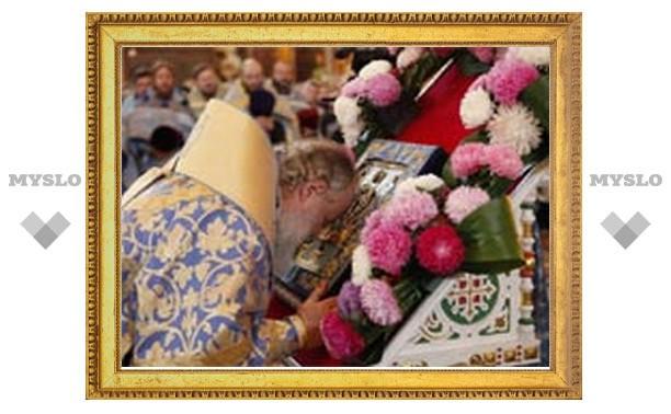 Патриарх Кирилл доставил в Курск главную святыню русского зарубежья