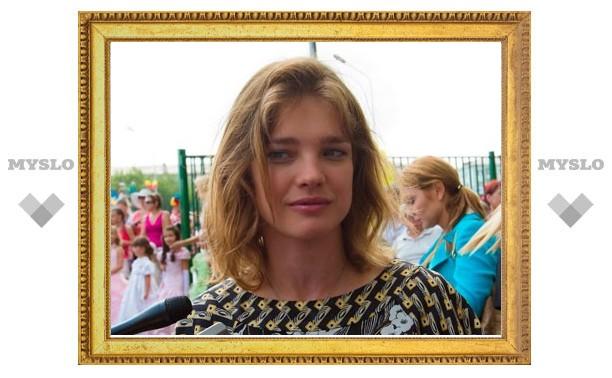 В Тулу приехала топ-модель Наталья Водянова