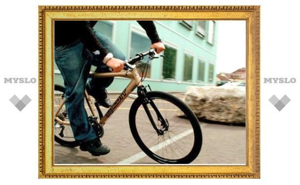 В Узловой поймали велосипедного угонщика