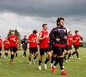 Футболисты «Арсенала» начали подготовку к матчу с «Оренбургом»