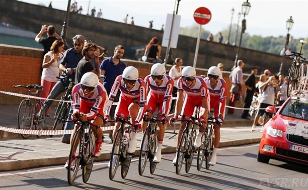 Тульские велосипедистки стали четвертыми на чемпионате мира