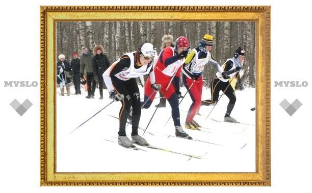 В Туле определили самого быстрого лыжника
