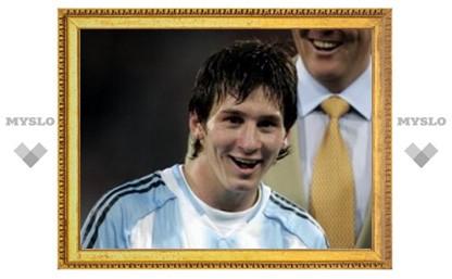 Лионель Месси забил пять голов за сборную Аргентины