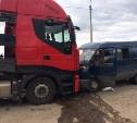 На Венёвском шоссе водитель «Газели» погиб в результате столкновения с грузовиком