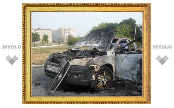 Туляк сжег свой Ford и оторвал руку другому водителю