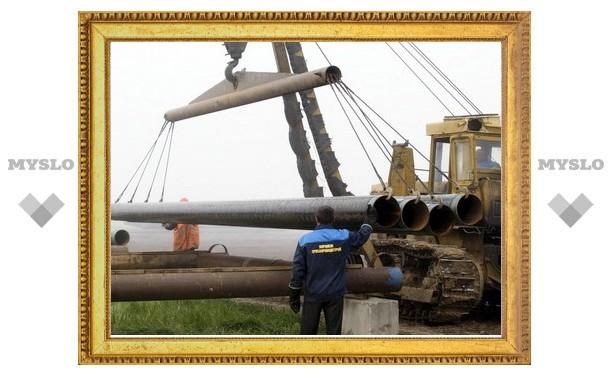 Под Тулой рабочего придавило газовой трубой