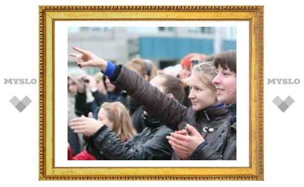 Как рокеры отметили День города