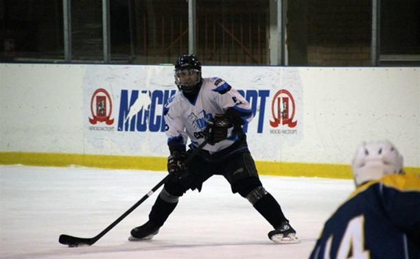 В Алексине скрестили клюшки хоккеисты
