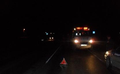 На старом направлении М4 столкнулись два грузовика