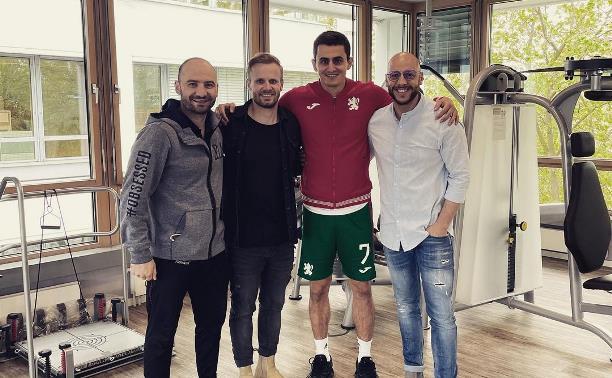 Полузащитник тульского «Арсенала» прошел реабилитацию в Германии