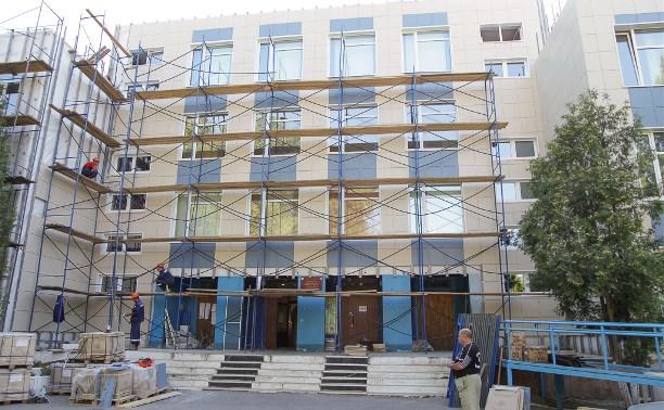 В Туле ремонтируют школы к началу учебного года