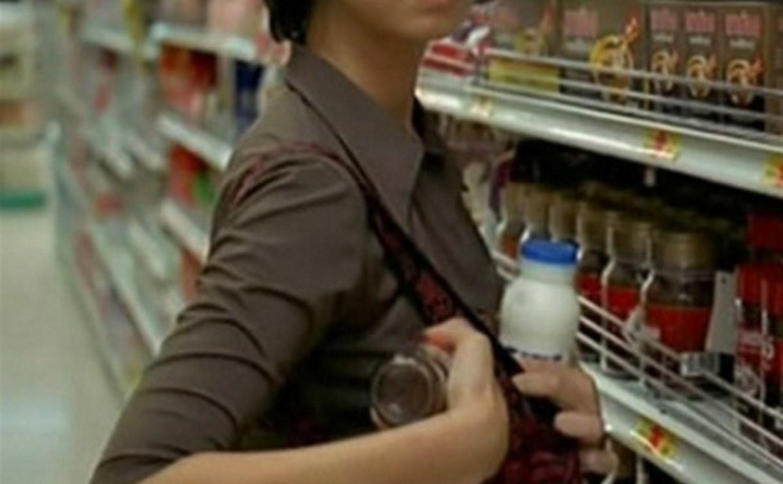 Тулячка пыталась украсть продукты из супермаркета