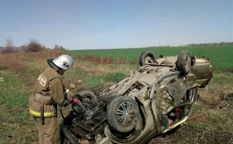 В Тульской области лоб в лоб столкнулись «Ниссан Жук» и «ВАЗ-2110»: водитель «десятки» погиб