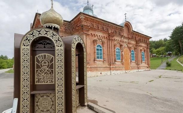 В Белевском районе по инициативе Алексея Дюмина благоустраивают мужской монастырь
