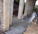 В Туле укрепляют бетонное основание Баташевского моста