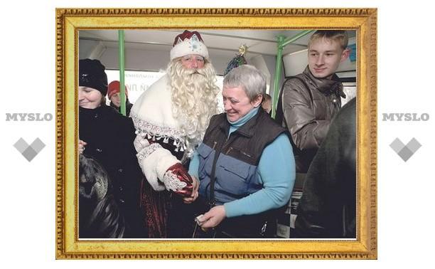 В Новогоднюю ночь транспорт Тулы будет ходить до четырех утра