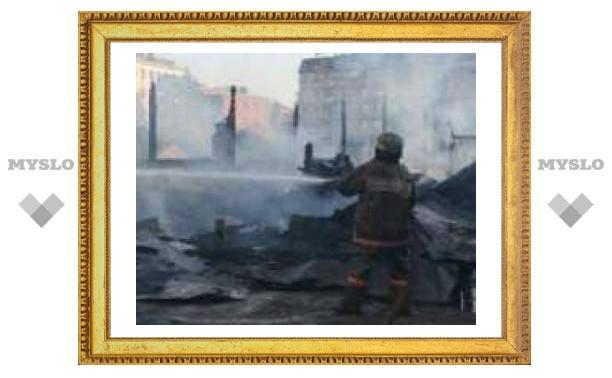 В Туле строители выжигают землю под новостройки?