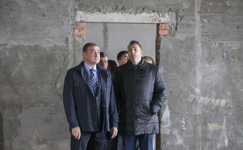 Алексей Дюмин с инспекцией нагрянул в веневский ФОК
