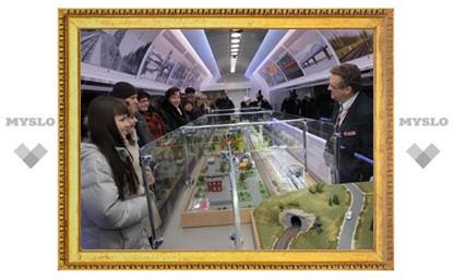 В Тулу приезжает поезд-музей РЖД