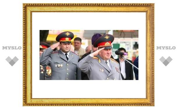 Тульские милиционеры приняли присягу