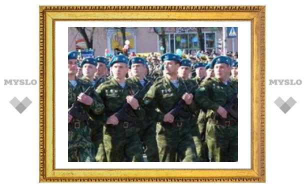 Тульские десантники готовятся к празднику