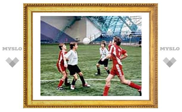 Алексинские футболисты стали чемпионами области