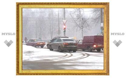 ГИБДД предупреждает туляков о надвигающемся снежном буране