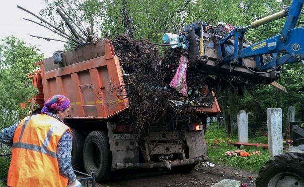 Администрация Тулы начала приводить в порядок городские кладбища