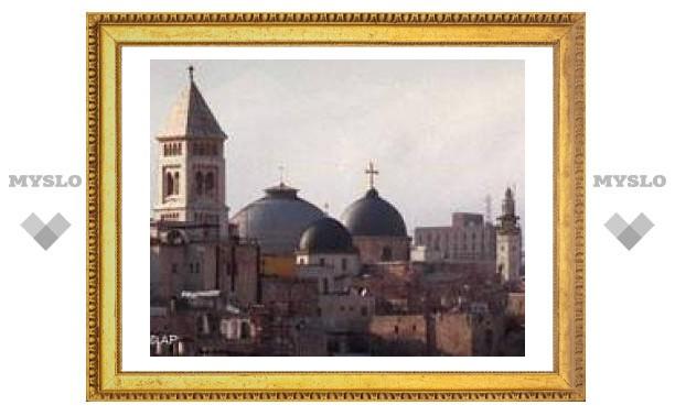 Папа Римский посетит Святую землю в мае 2009 года.