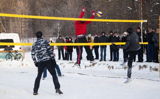 В Туле вновь пройдёт турнир по волейболу на снегу
